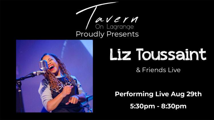 Liz Toussaint Live